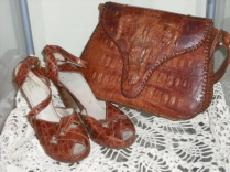 My mothers shoes and purse from early 1940's