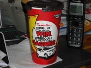 My morning Tim's Coffee. A must to get me going!