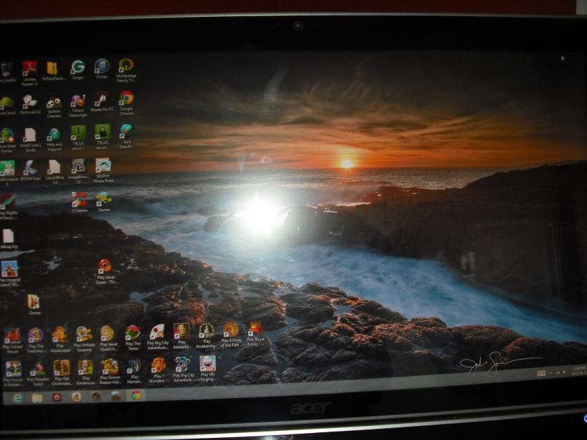 My lifeline, my computer (C) JLPhillips 2013