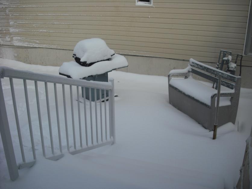 First snow of the season, Oct 28, 13 (c) JLPhillips