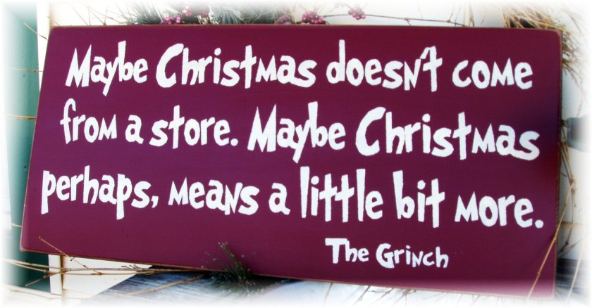 Source: Why the Grinch of course!