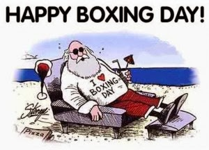Happy Boxing Day 2013 Wishes Quotes Funny Greetings Sale USA UK NYC