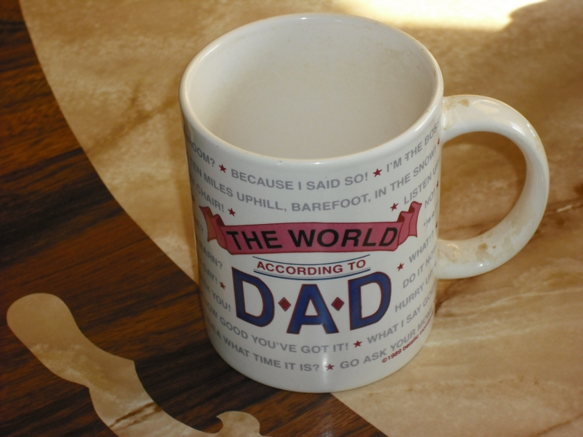 Dad's coffee cup (c) JLPhillips 2014