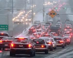 Calgary AB traffic