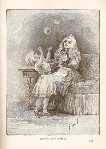 SistersBlowingBubbles1898