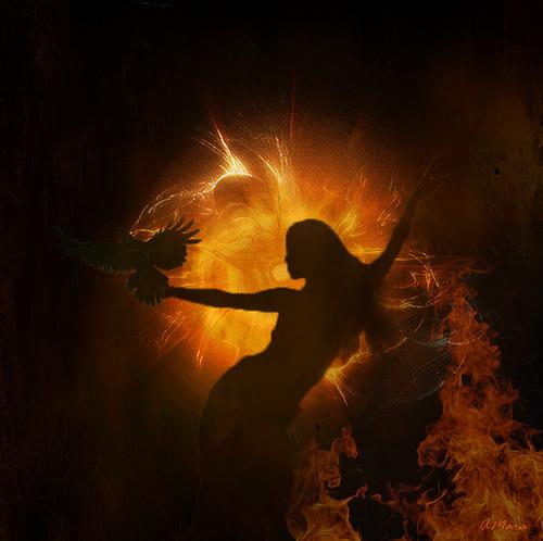Fire Dance: image credit - Angela Marie Henriette