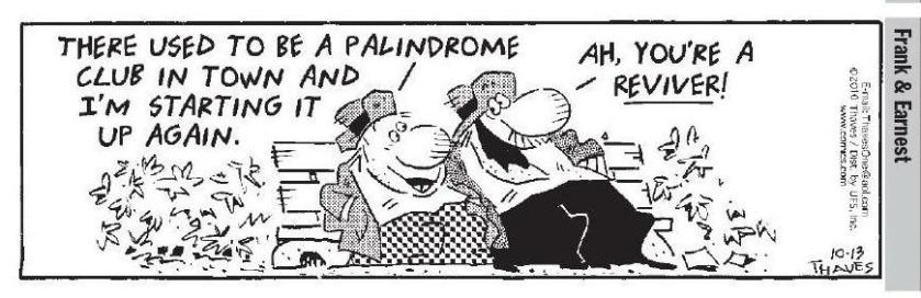 101310 Frankd & Earnest Palindrome