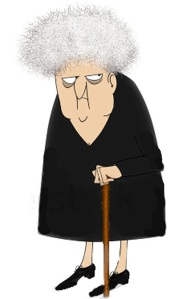 stock-photo-funny-cartoon-of-a-crotchety-old-woman-looking-sideways-62010205-copy2