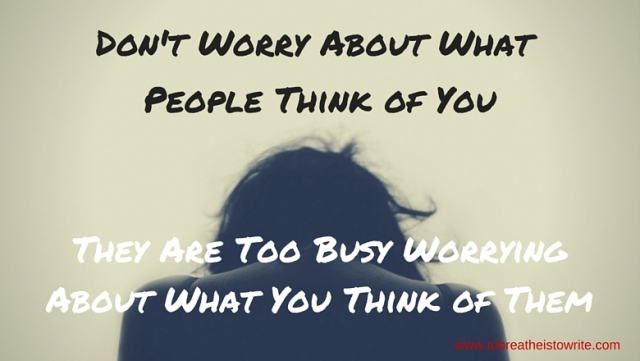 Don't Worry About What