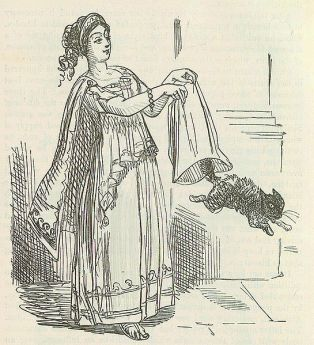 mage by John Leech, from: The Comic History of Rome by Gilbert Abbott A Beckett. Bradbury, Evans & Co, London, 1850s Fulvia