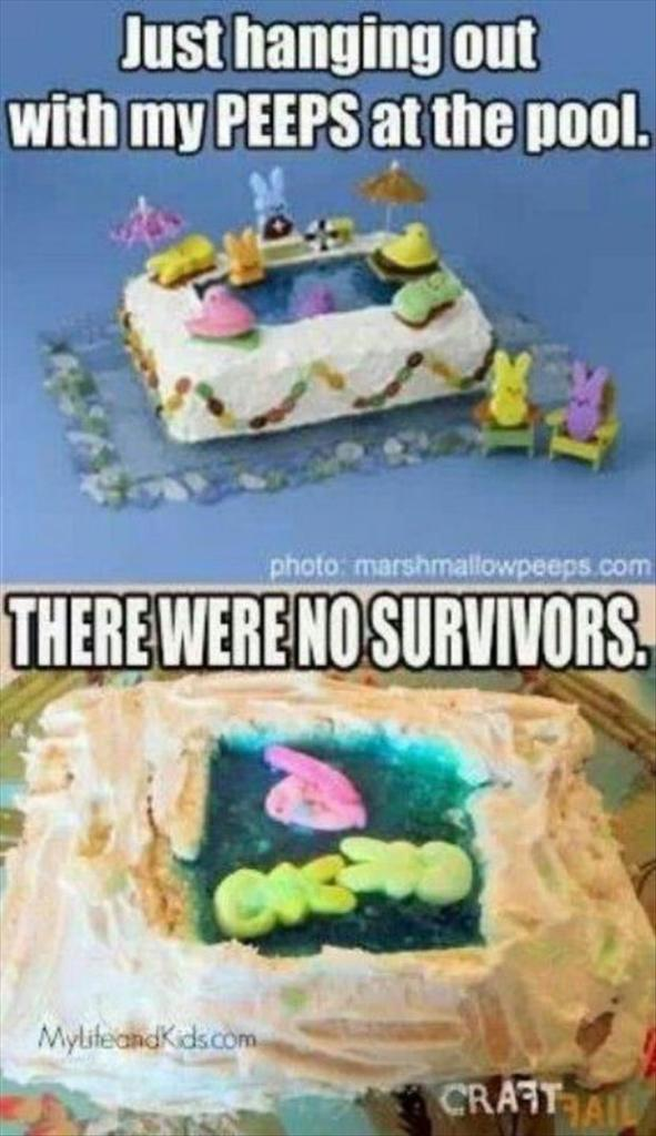 Not the peeps!!