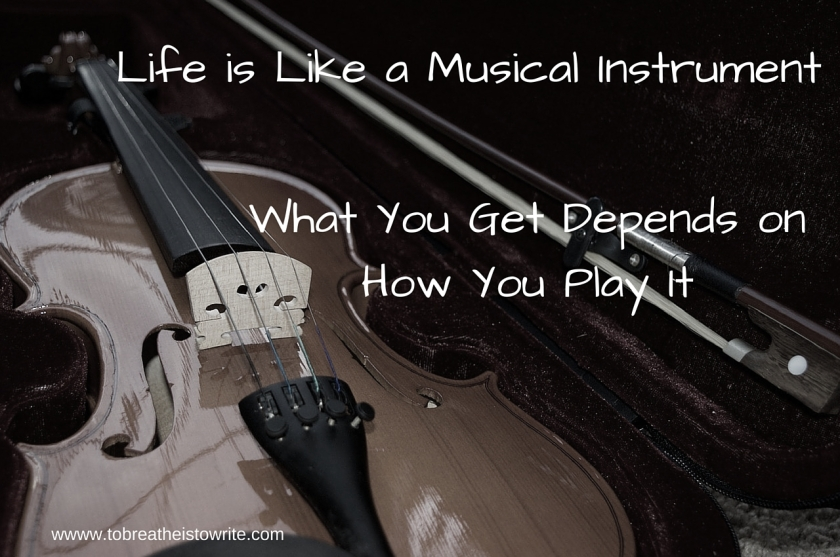 Life is Like a Musical Instrument