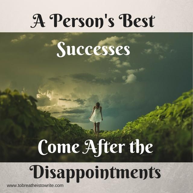 A Person's Best Successes